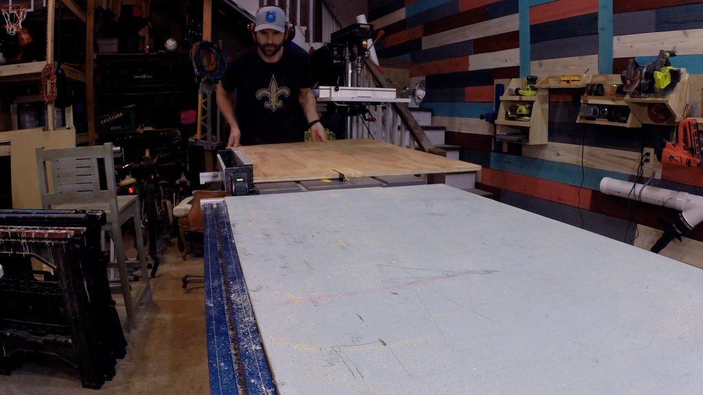 Mardi Gras Ladder Chair - Cut Plywood