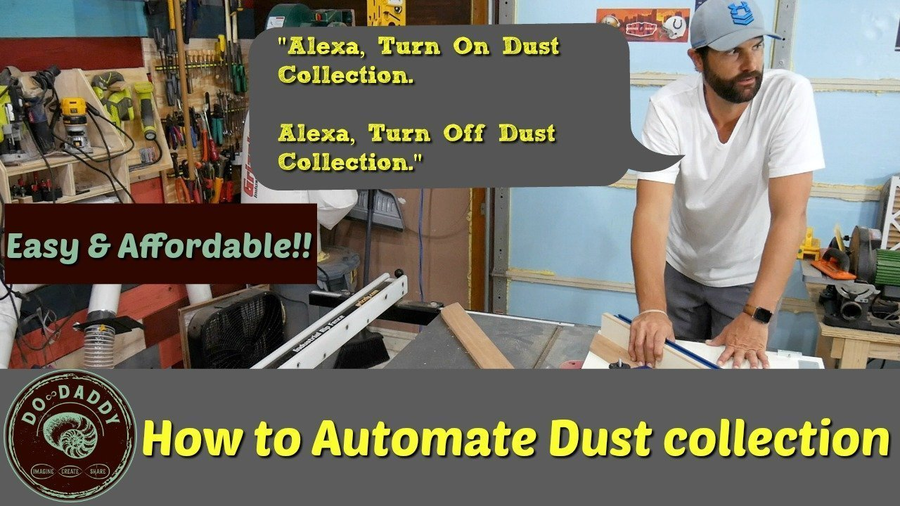 How to Automate Dust Collection with voice commands
