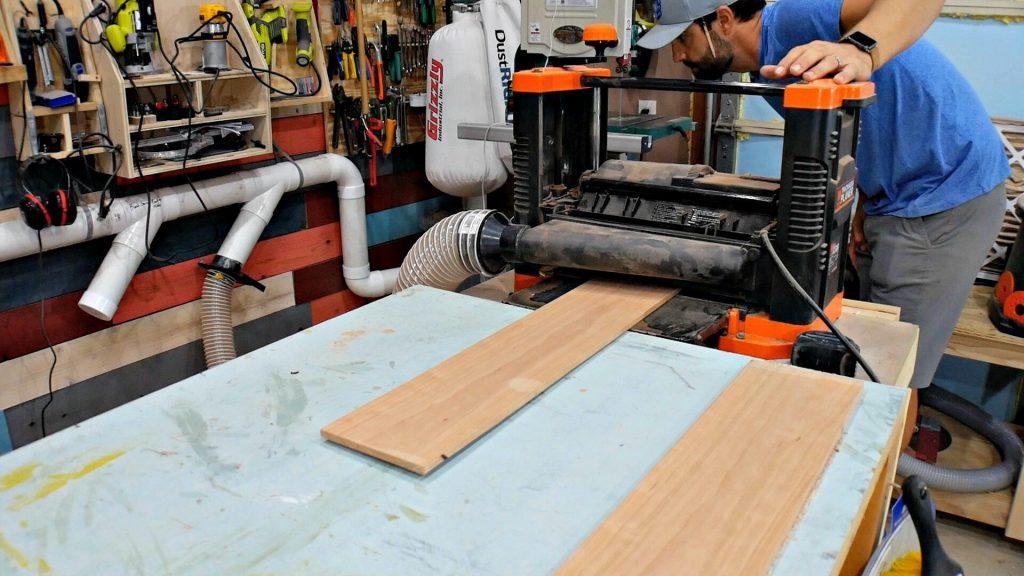 milling wood wen planer