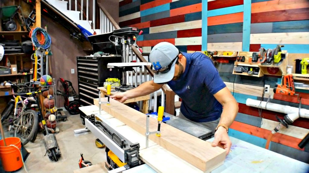 table saw jig for straight edge