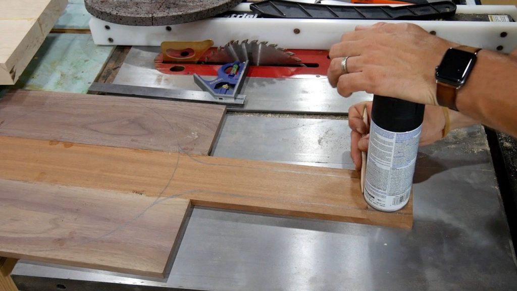 DIY Pizza Peel - 10 - handle knob