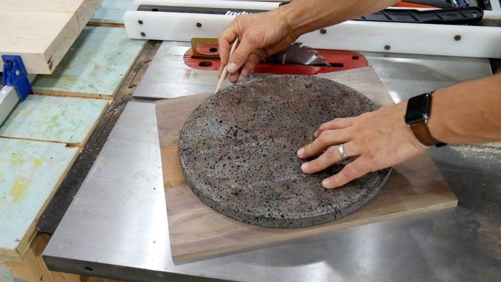 DIY Pizza Peel - 8 - rounding