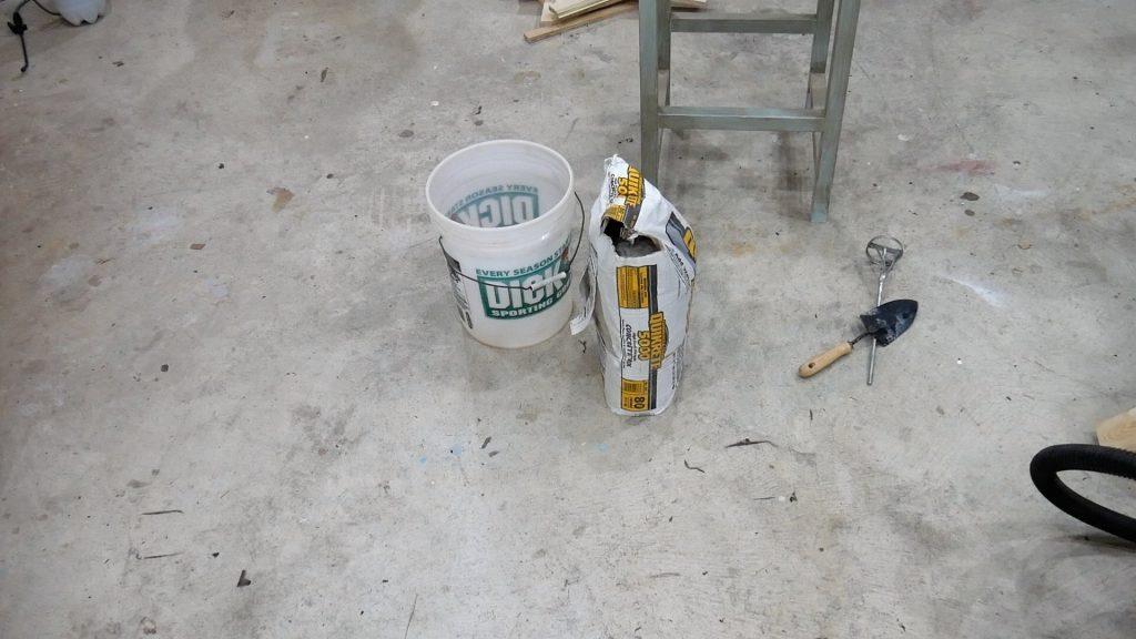 Walnut River Table - Concrete Materials