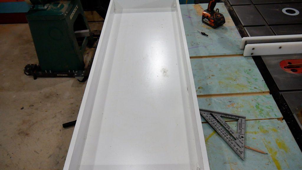 Walnut River Table - Melamine Box