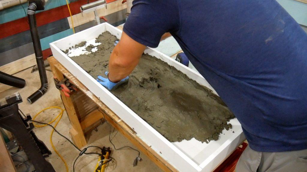 Walnut River Table - Spread Concrete