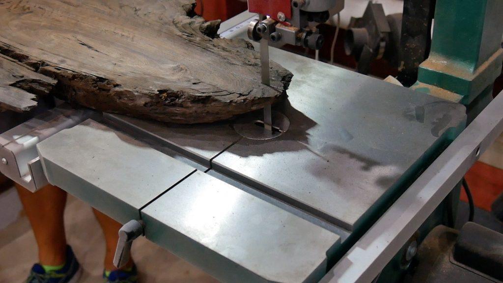 Walnut River Table Resaw