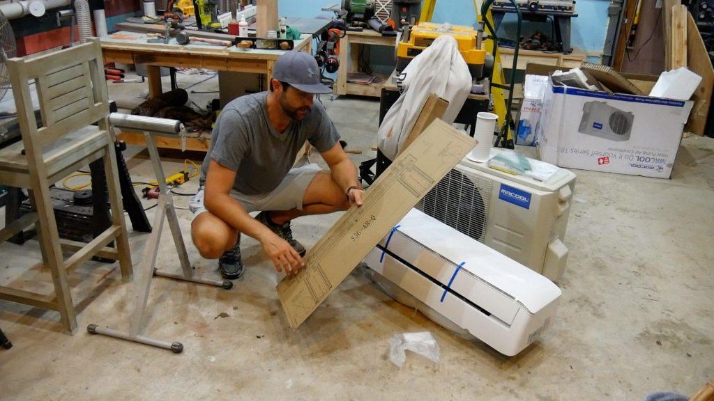 Mr Cool DIY 18k Unboxing