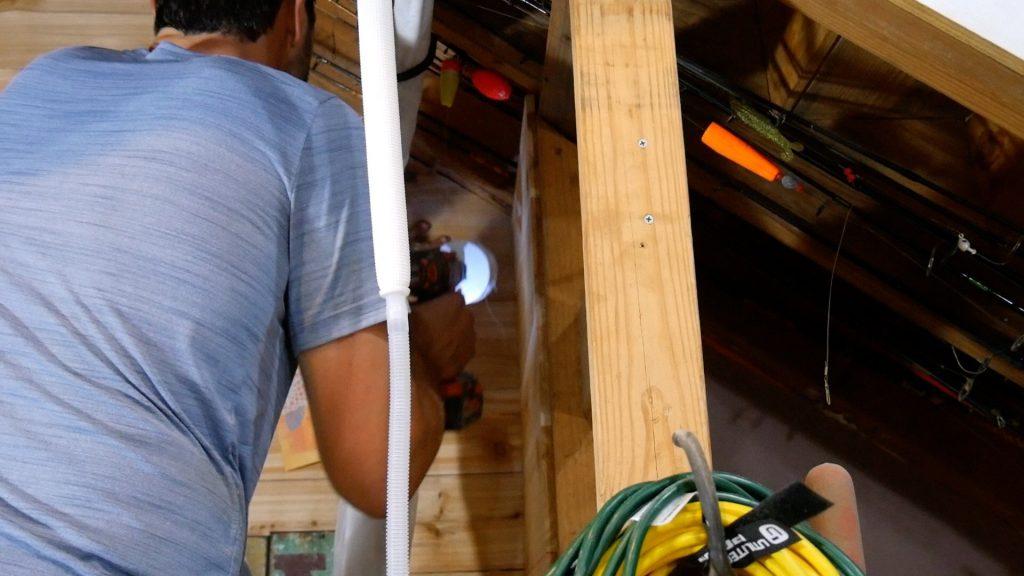 Mini Split drill 3.5 inch hole through wall