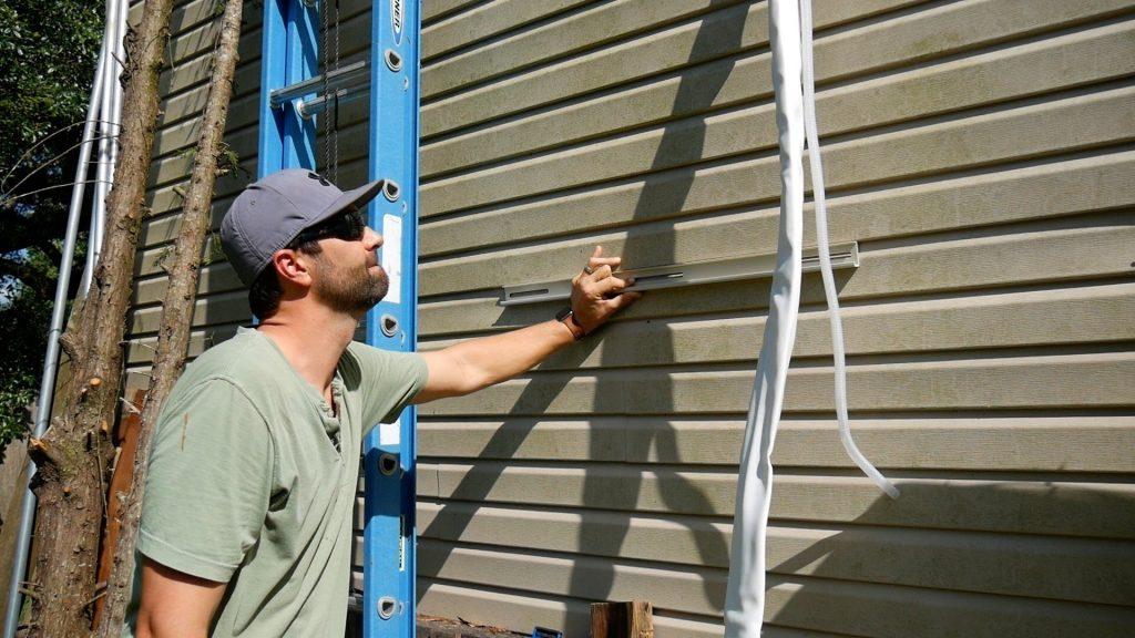 DIY Mini Split Installation Outside Condenser Placement