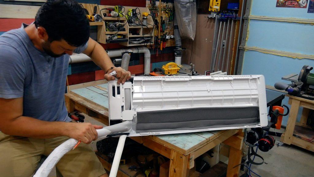 Mr Cool DIY 18k flex refrigerant Pipes