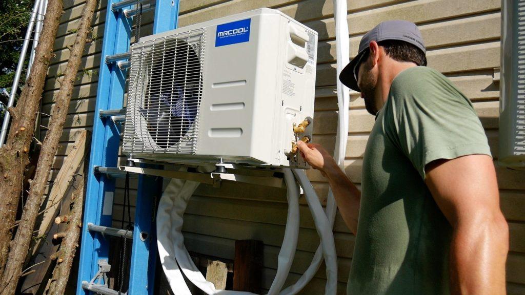 DIY Mini Split Installation refrigerant lines