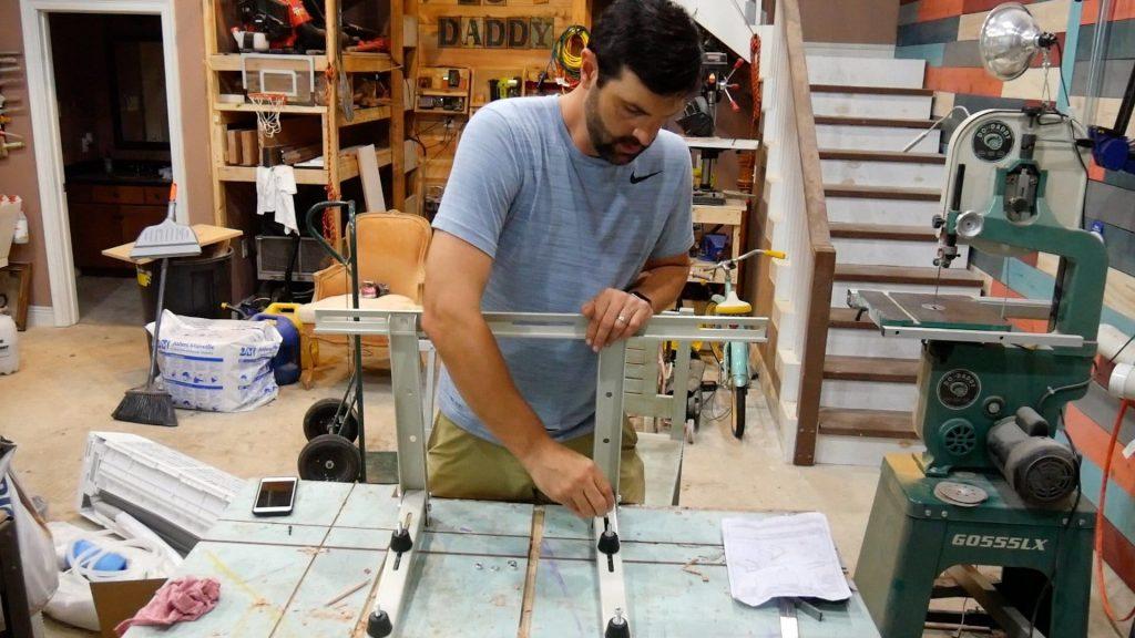 DIY Mini Split Wall Bracket Assembly