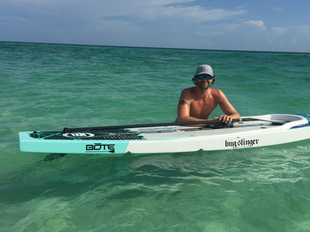Paddle Boarding in Destin Florida - Bote Rackham Bugslinger Edition