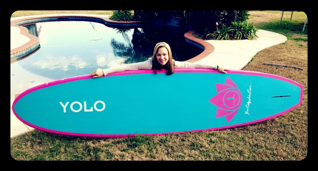Paddle Boarding in Destin Florida - Yolo 11' Recreation Board