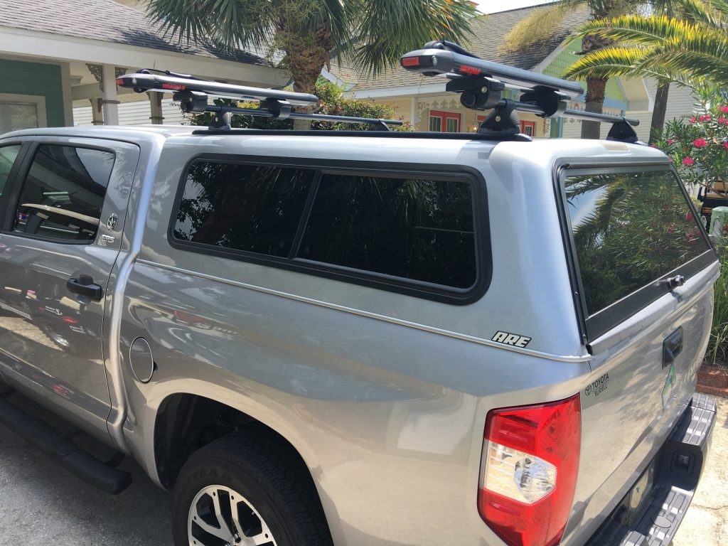 Paddle Boarding in Destin Florida - Yakima Board Transport for Truck