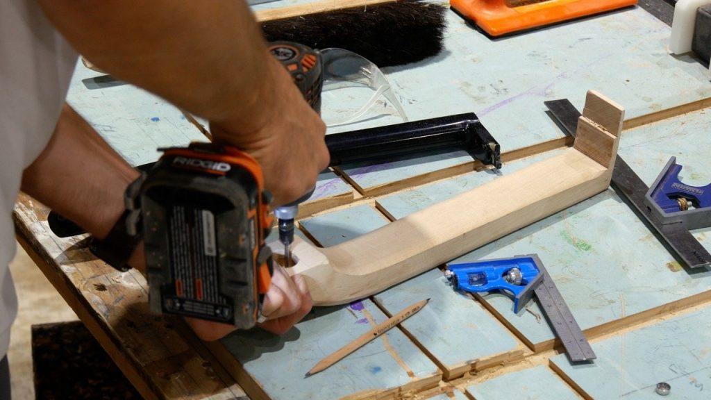 how to make a refrigerator wood door handle