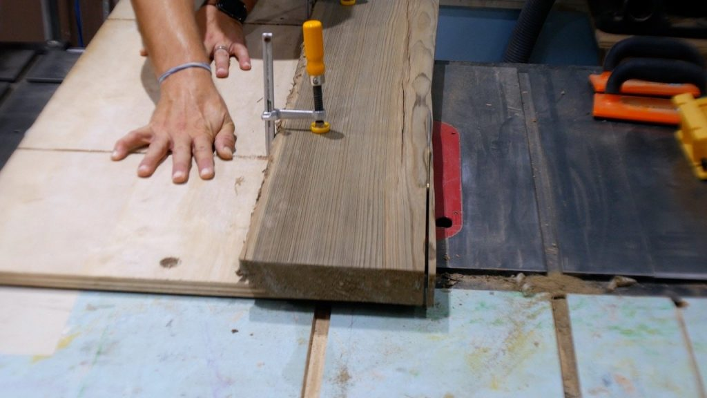 table saw jointer jig for straight sides