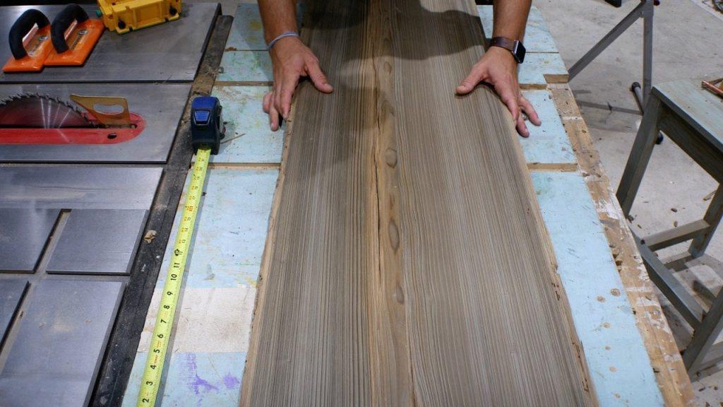 sinker cypress slab