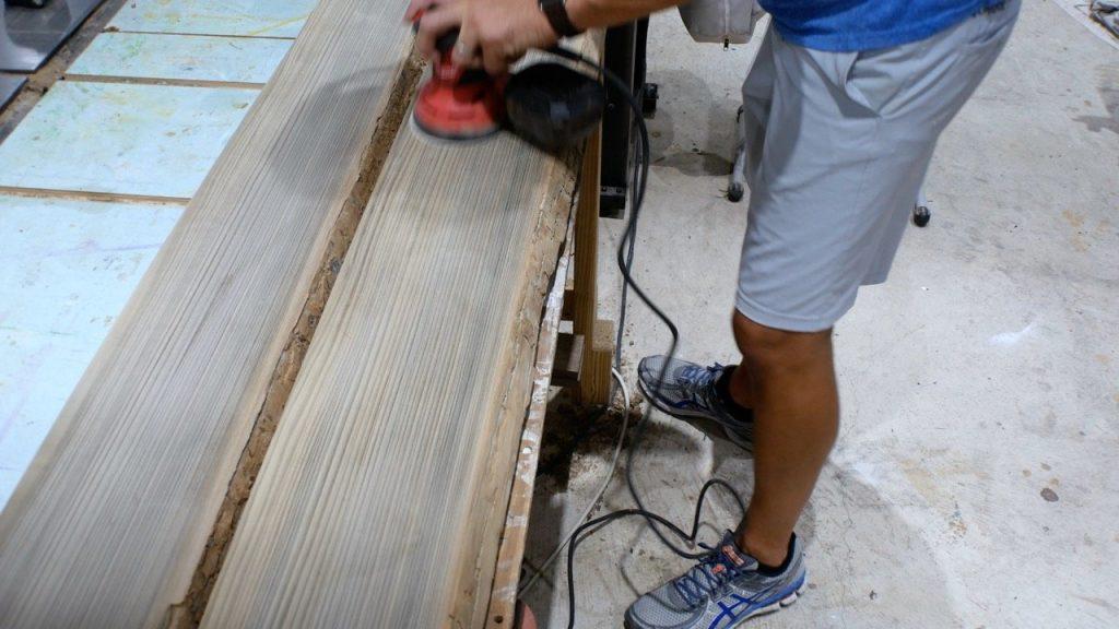 Sand Wood slab