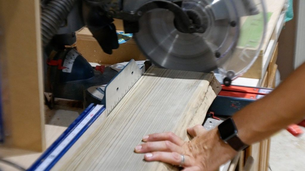 square ends with miter saw