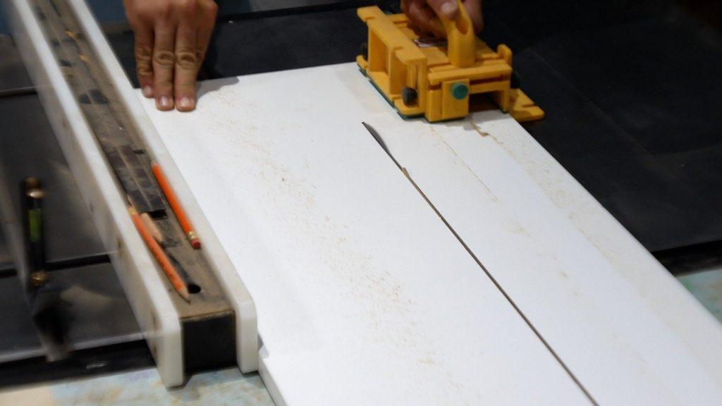 Melamine Resin Mold for led river table