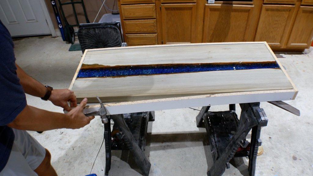 remove resin mold