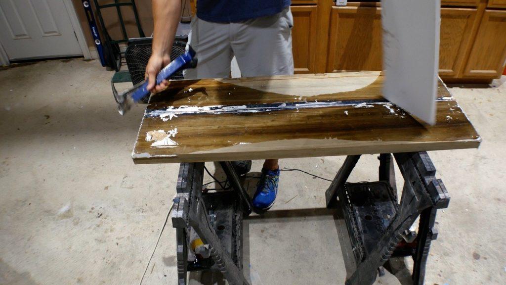 leaking resin mold
