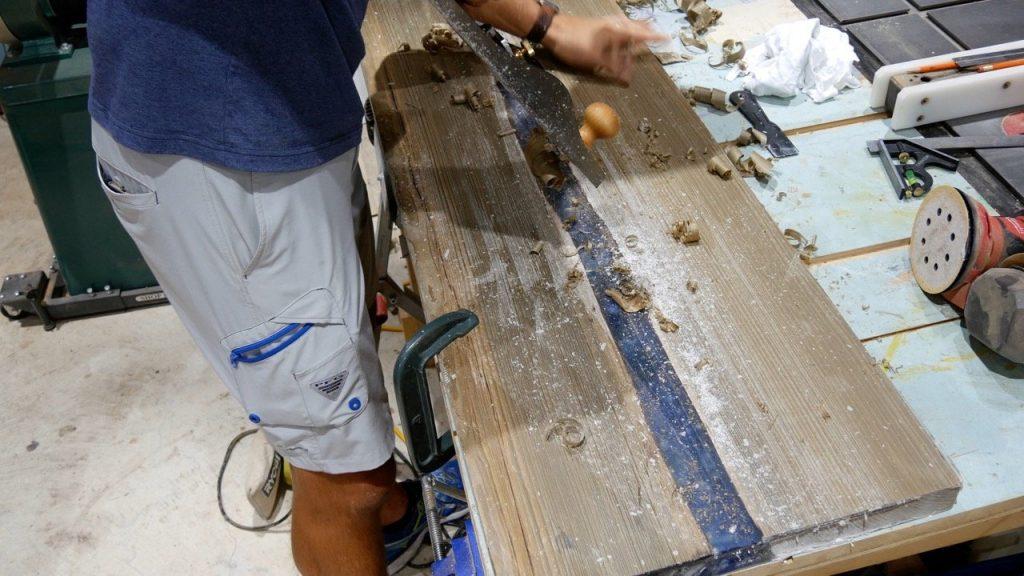 wood jack plane