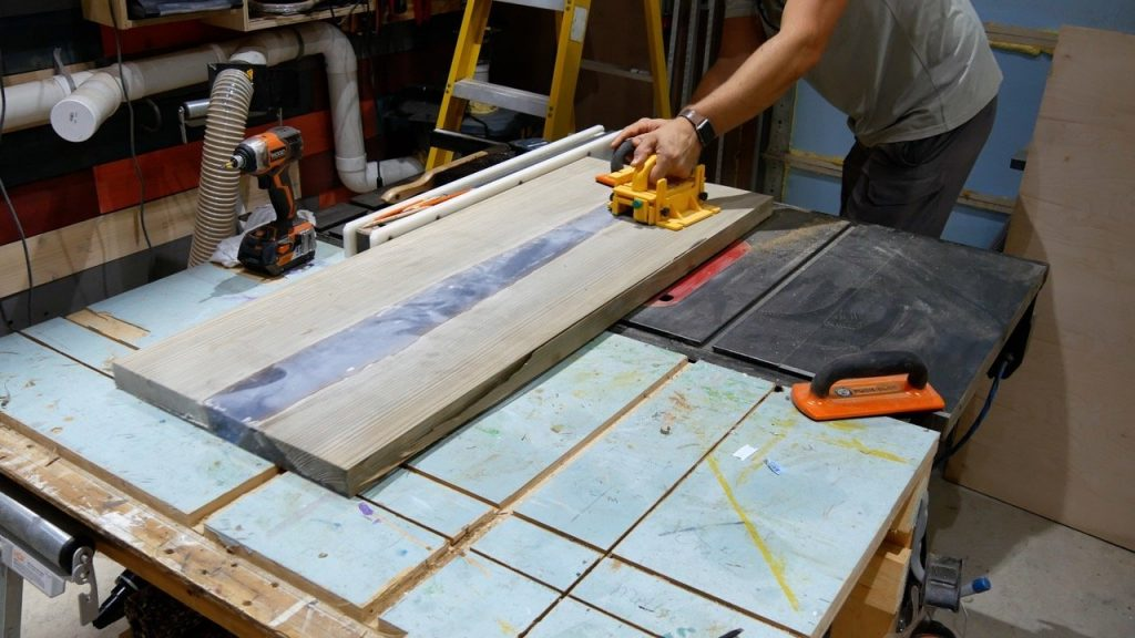 table saw straight sides