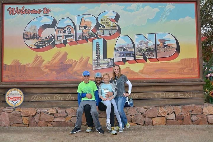 Disneyland vs. Disney World Ride Comparisons Cars Land Sign