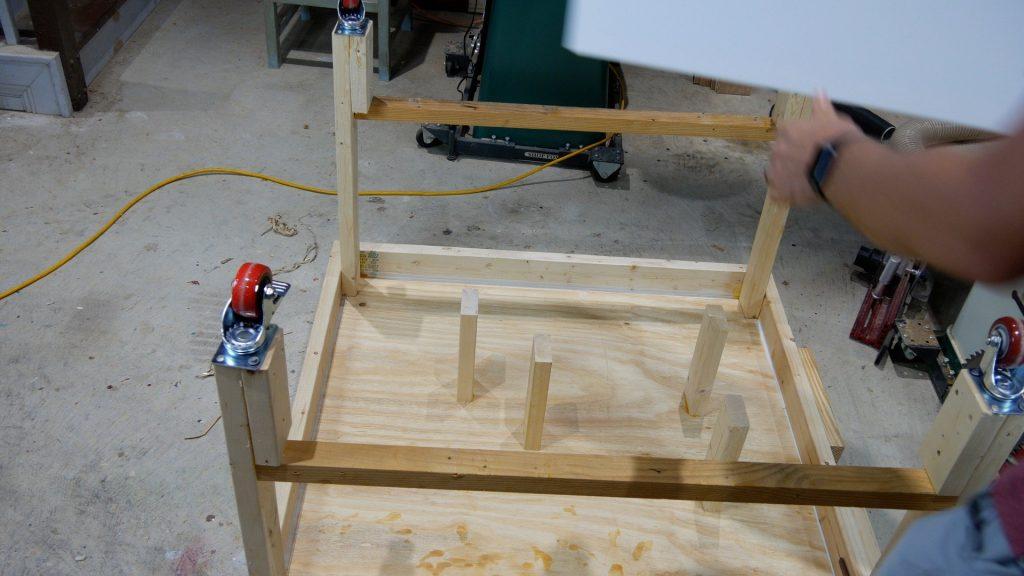 How to Make Resin Art Table Underside