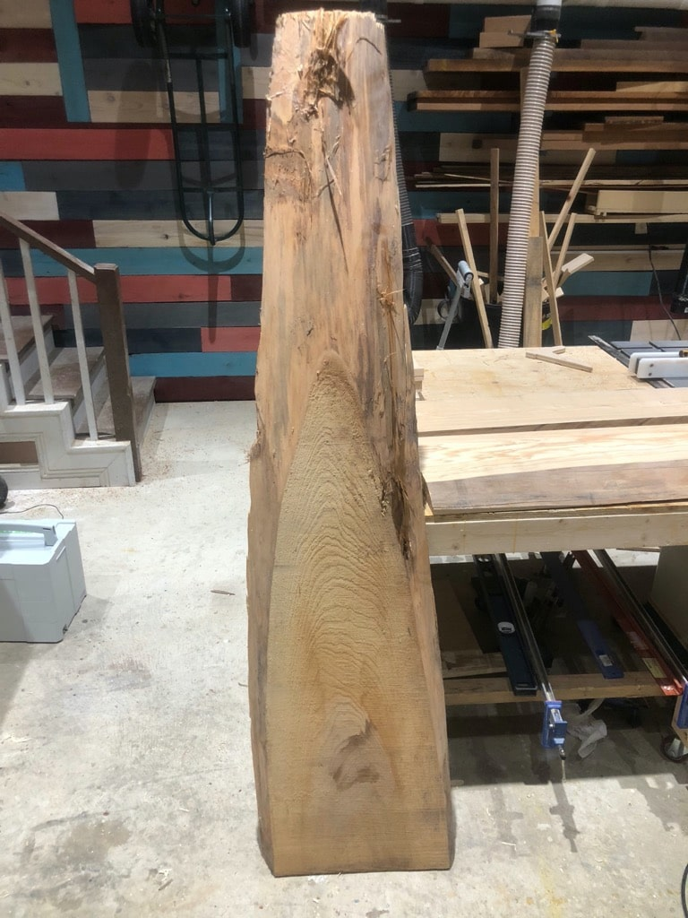 Reclaimed Live Edge Cypress Wood