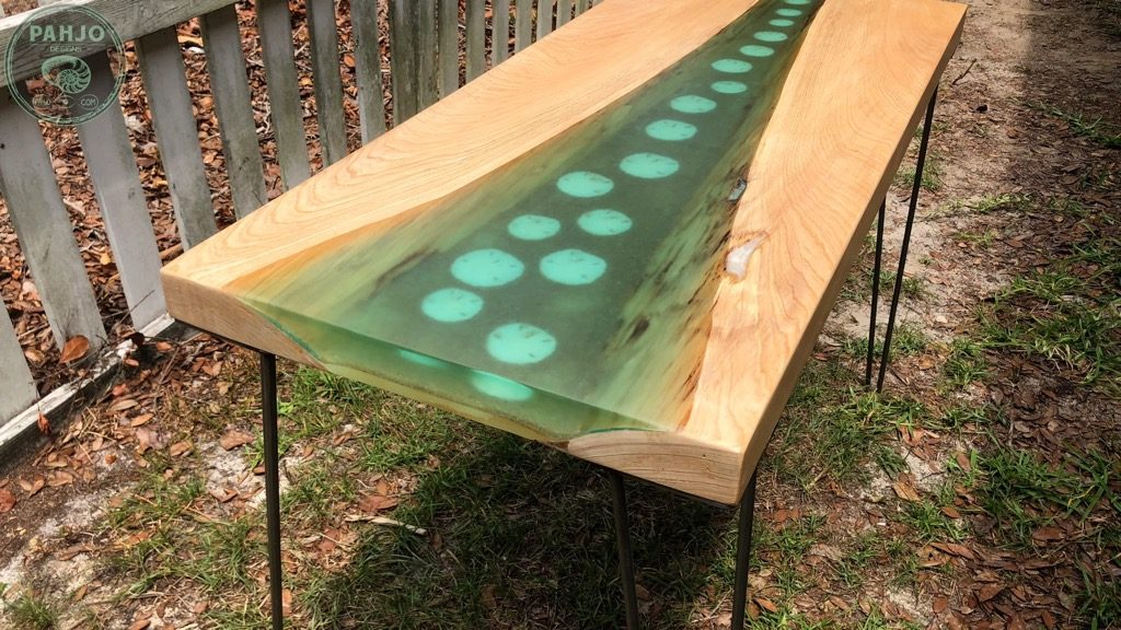 Epoxy Resin Ocean Table