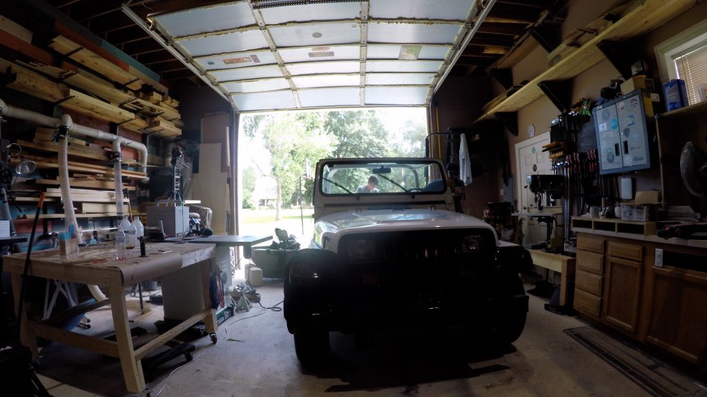 how to spray bed liner in a jeep wrangler interior_14
