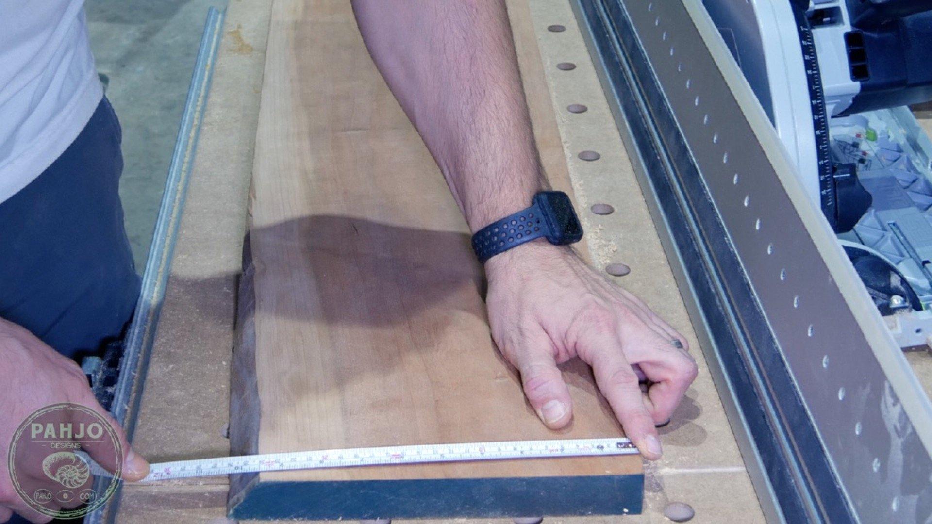 DIY Wood and Resin Wall Art - Baseball Storage Rack_Cherry Wood