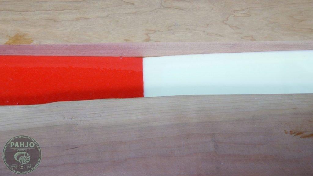 DIY Wood and Resin Wall Art - Baseball Storage Rack_Resin River Mix Pigments