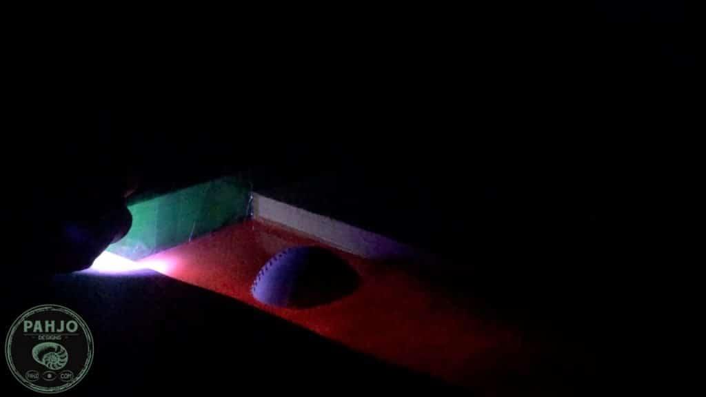 epoxy glow powder