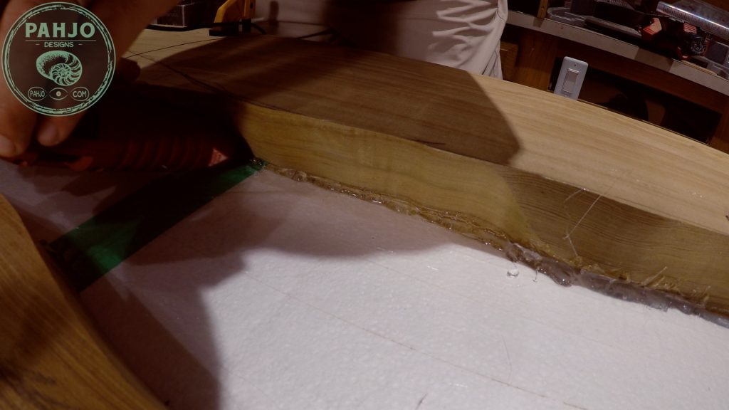 Epoxy Bar Top using Reclaimed Wood Seal River Table