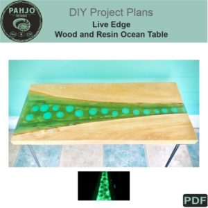 Wood and Resin Glow Table DIY Plans Thumbnail