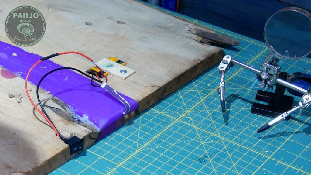 solder led light strip for epoxy resin
