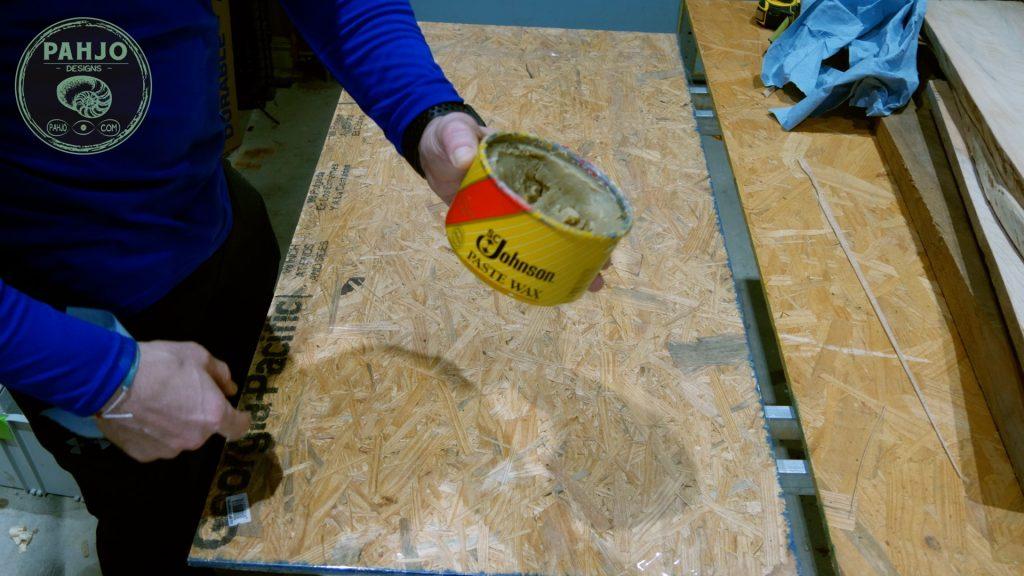 LED Epoxy Resin Wood Wall Art Resin Mold