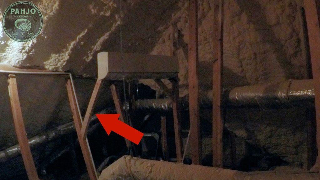 DIY Mini Split Install in Spray Foam Attic Inside Unit