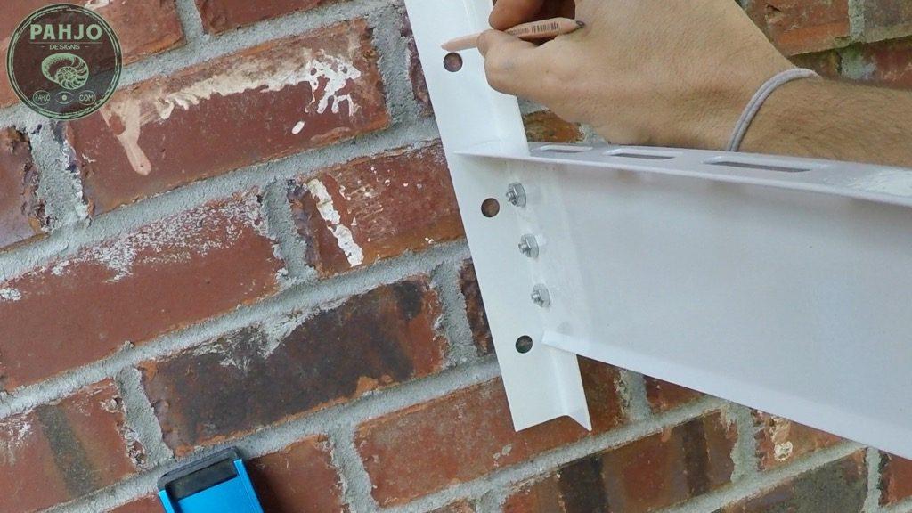 DIY Mini Split Install Outside Condenser on Brick