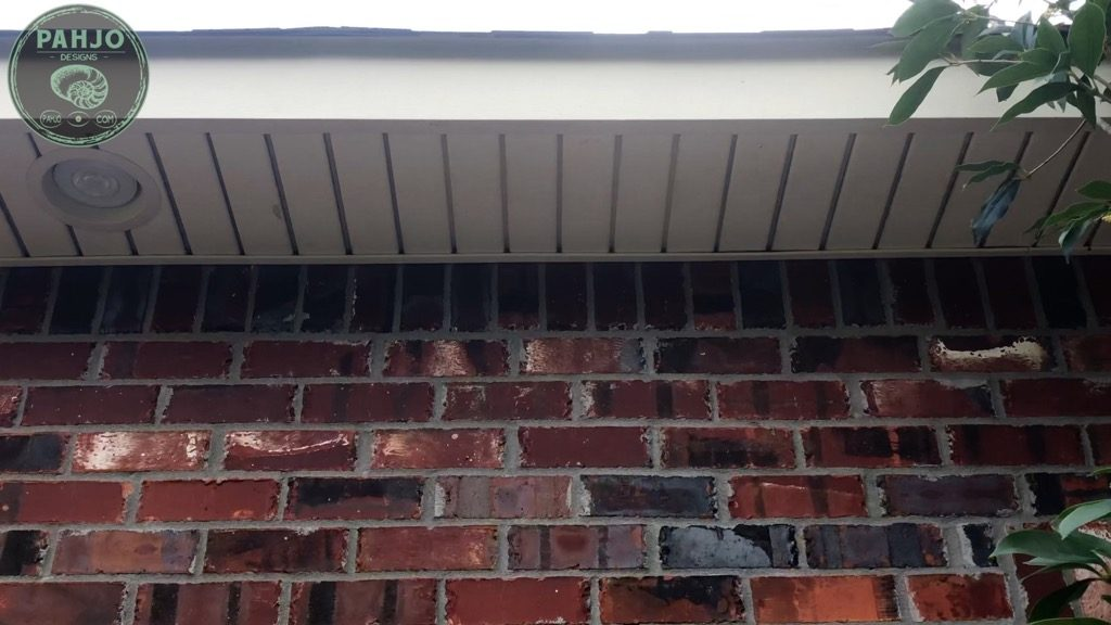 DIY Mini Split Install Drill Hole in soffit for refrigerant lines