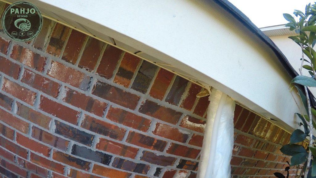 DIY Mini Split Install pull refrigerant lines through soffit