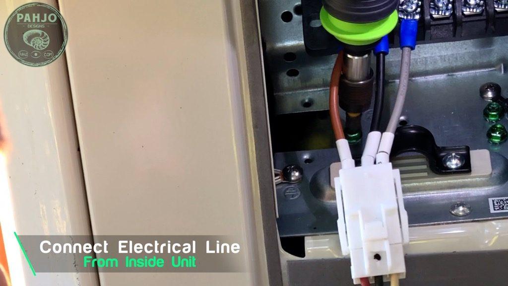 MRCOOL DIY Mini Split Connect Electrical Wiring Harness