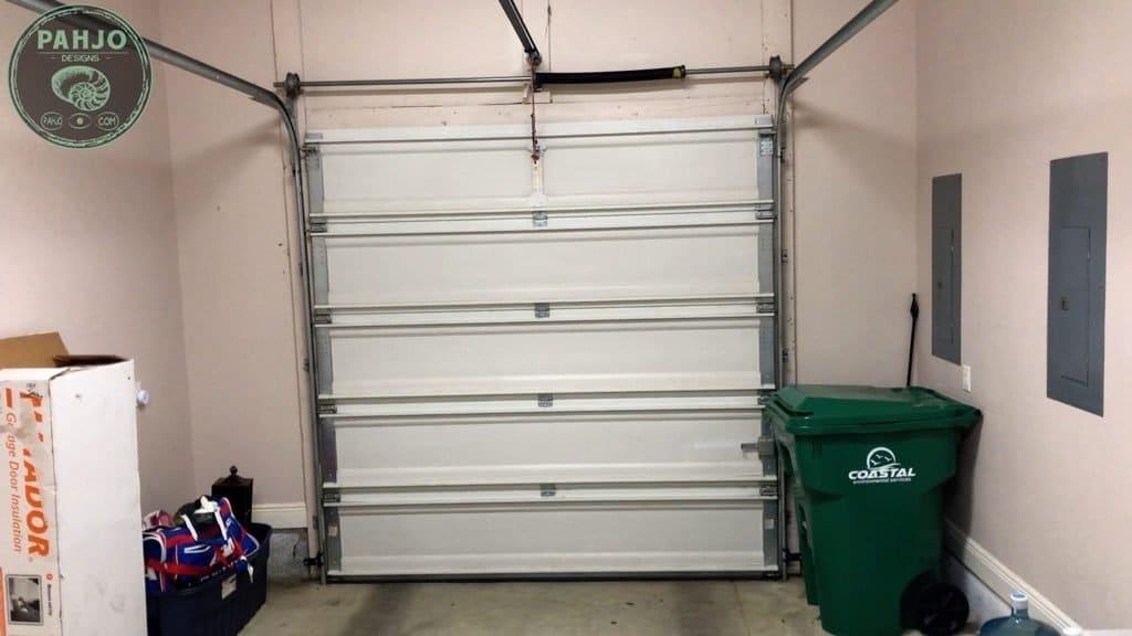 Spray Foam Attic Insulate Garage Door