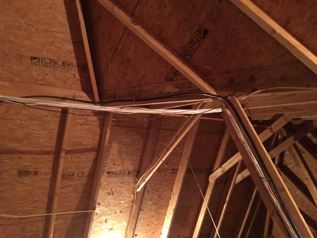 Spray Foam Attic Ventilation Before Installation