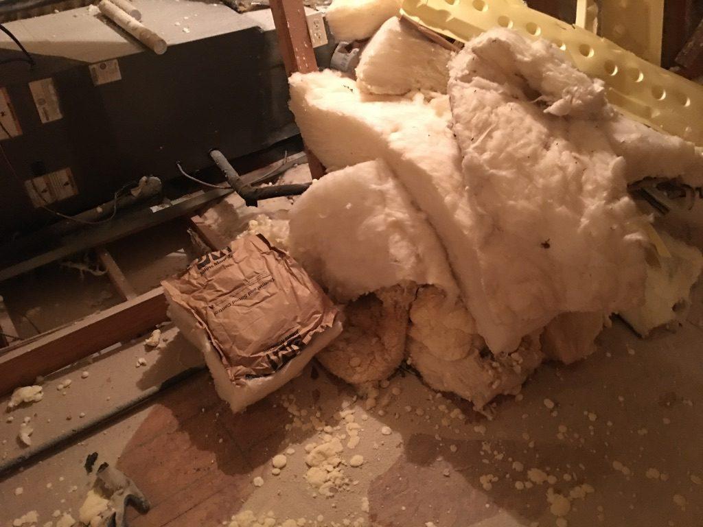 Spray Foam Attic Remove Floor Insulation