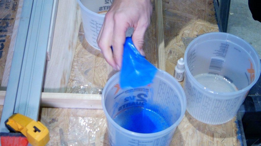 mix resin pigment powder